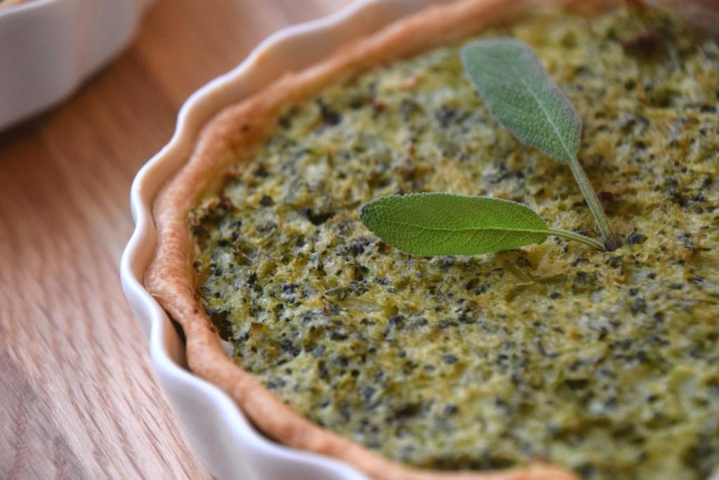 Pai med brokkoli og ricotta-ost