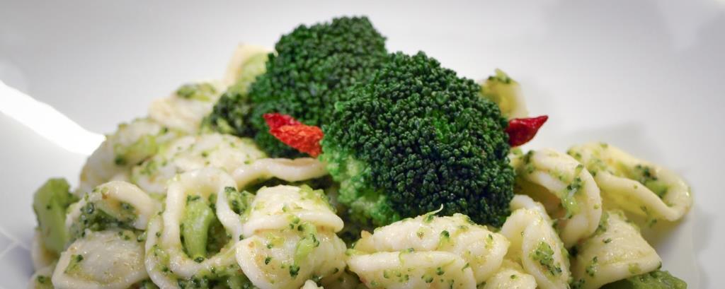 Pasta med brokkoli