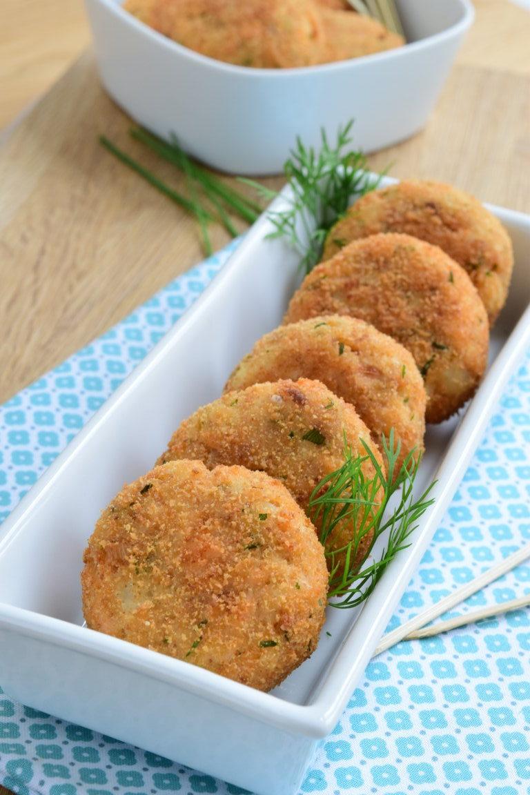 Laks og potetboller
